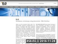 Miniaturka domeny elo.com.pl