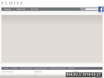 Zrzut strony Eloise- złote obrączki ślubne, pierścionki zaręczynowe, zegarki