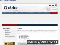 Miniaturka domeny www.elstar.com.pl