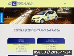 Miniaturka domeny www.eltrans.radom.pl