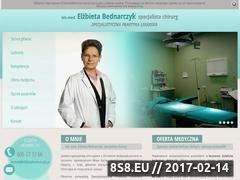 Miniaturka domeny www.elzbietabednarczyk.pl
