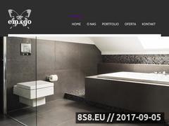 Miniaturka emago.com.pl (Projektowanie i architektura wnętrz)