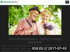 Miniaturka domeny emerytalnekonto.pl