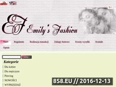 Miniaturka domeny emilysfashion.pl