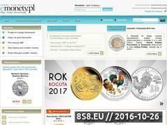 Miniaturka www.emonety.pl (Sklep numizmatyczny)