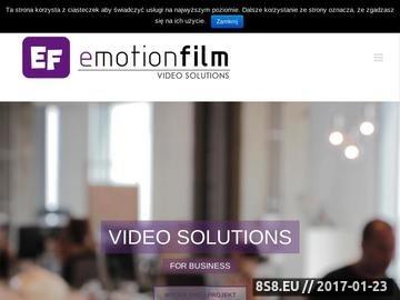 Zrzut strony Produkcja filmów dla biznesu - video marketing
