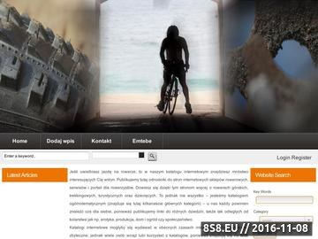Zrzut strony Sklep rowerowy emtebe.pl