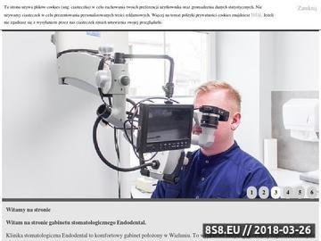 Zrzut strony Endodoncja Łódź