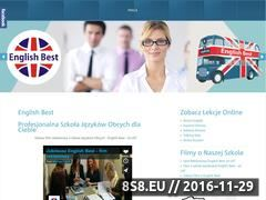 Miniaturka domeny englishbest.pl