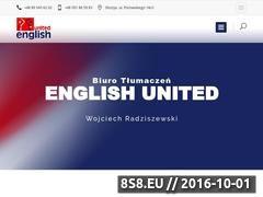 Miniaturka domeny www.englishunited.pl