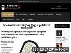 Miniaturka Nieśmiertelniki, wybijanie nieśmiertelników! (engrave.pl)