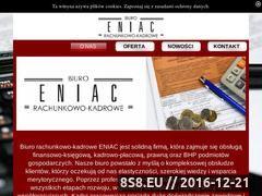 Miniaturka domeny eniac-online.pl