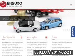 Miniaturka domeny www.ensuro.pl