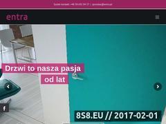 Miniaturka domeny www.entra.com.pl