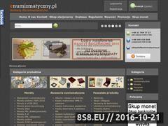 Miniaturka domeny www.enumizmatyczny.pl