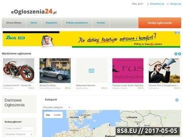 Zrzut strony Portal ogłoszeniowy - eogloszenia24.pl