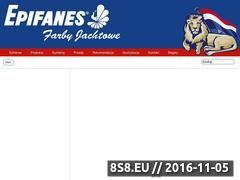 Miniaturka domeny epifanes.pl