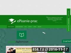 Miniaturka domeny www.episanie-prac.pl