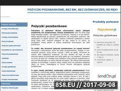 Miniaturka epozyczkipozabankowe.pl (Pośrednik we wnioskach o pożyczki online)