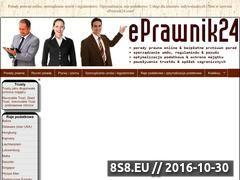 Miniaturka domeny eprawnik24.com