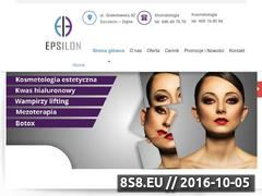 Miniaturka domeny www.epsilon.info.pl