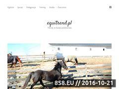 Miniaturka equitrend.pl (Blog o najnowszych trendach w jeździectwie)