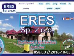 Miniaturka domeny www.eres-budowa-domow.pl