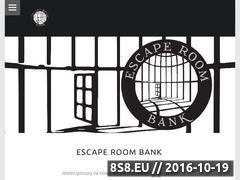 Miniaturka www.escaperoombank.pl (Escape Room)