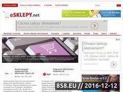 Miniaturka domeny www.esklepy.net