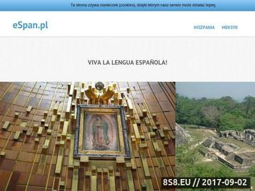 Zrzut strony Sklep espan - język hiszpański Almodovar podręczniki fiszki