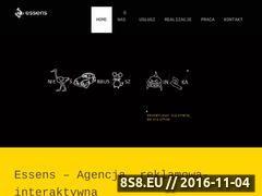 Miniaturka domeny www.essens.pl