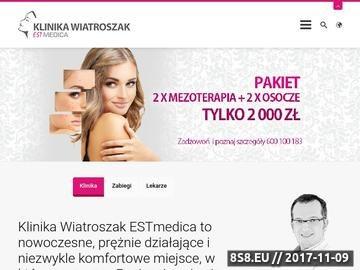 Zrzut strony Usuwanie owłosienia (epilacja laserowa) - EstMedica Wrocław