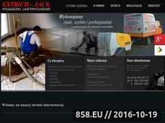 Miniaturka domeny www.estrich-jack.pl