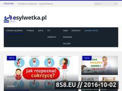Miniaturka Strona dla chcących schudnąć skutecznie i zdrowo (esylwetka.pl)
