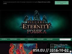 Miniaturka eternityproject.pl (Pillars of Eternity Polska)