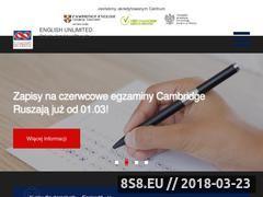Miniaturka eu.com.pl (English Unlimited - Angielski Gdynia)