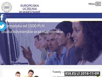 Zrzut strony Pedagogika przedszkolna Warszawa