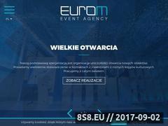 Miniaturka euro-m.pl (Agencja eventowa)