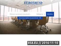 Miniaturka domeny www.euro-trend.pl