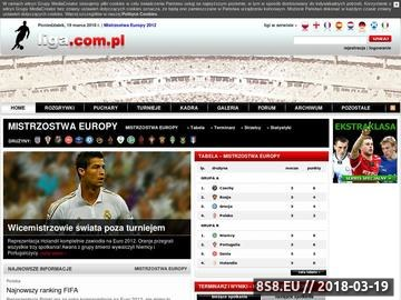 Zrzut strony Euro 2012 - FootballClub.pl