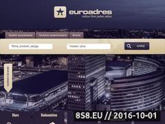 Miniaturka domeny www.euroadres.pl