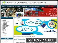 Miniaturka eurobike.pl (Sklep i serwis rowerowy)