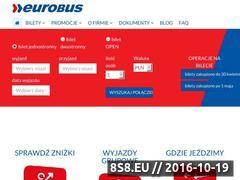 Miniaturka domeny www.eurobus-eurolines.pl