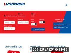 Miniaturka www.eurobus.pl (Autokary do Niemiec)