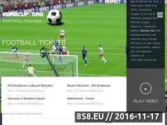 Miniaturka www.eurocup.org (Euro 2016 fanzone)