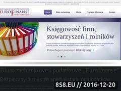 Miniaturka domeny www.eurofinanse.info.pl