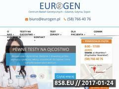 Miniaturka domeny eurogen.pl