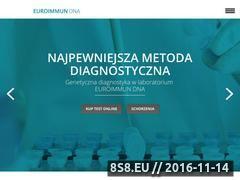 Miniaturka domeny euroimmundna.pl