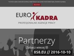 Miniaturka domeny eurokadra.com.pl