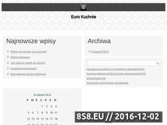 Miniaturka domeny www.eurokuchnie.org.pl